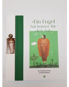 Neues Engelbuch mit Bronzeengel